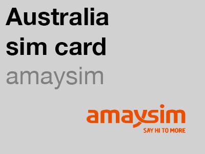 amaysim Australian sim card
