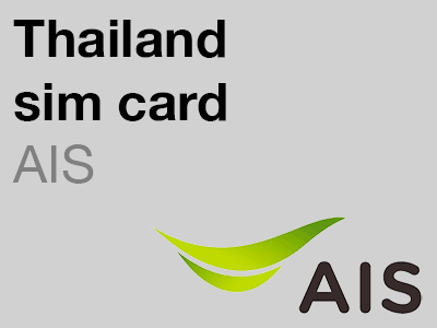 AIS Traveller sim card for use in Thailand
