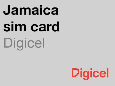 Digicel Jamaica sim card